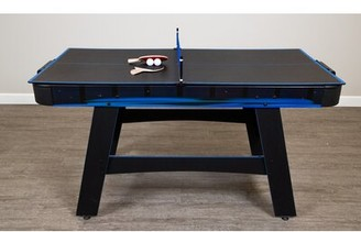 5' Two Player Air Hockey Table with Manual Scoreboard Hathaway Games