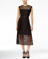 Rachel Roy Lace-Trim Fit & Flare Dress, Only at Macy's