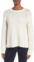Eileen Fisher Women's Nubble Knit Cotton Sweater