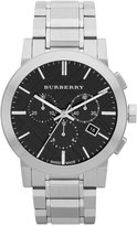 Burberry Watch, Men's Swiss Chronograph Stainless Steel Bracelet 42mm BU9351