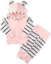 Albee Yang Newborn Toddler Kids Baby Boys Hoodie Tops + Pants Leggings 2Pcs Outfits Clothes