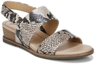 Dr. Scholl's Freeform Snakeskin Embossed Sandal