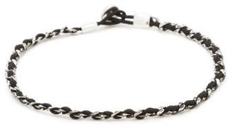 Miansai Nexus Curb-chain Sterling-silver Bracelet - Black Multi