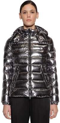 Moncler Bady Metallic Nylon Down Jacket
