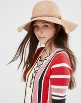 Alice Hannah 70's Floppy Hat