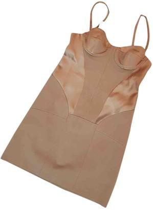 Fenty by Rihanna Beige Viscose Dresses