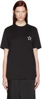 Givenchy Black Empty Star T-Shirt