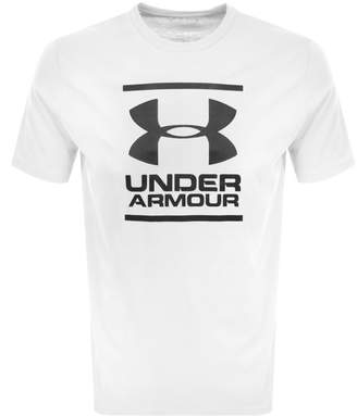Under Armour Foundation Logo T Shirt White