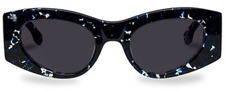 Le Specs Luxe Extempore 49MM Cat Eye Sunglasses