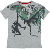 Myths Monkey Printed Cotton Jersey T-Shirt