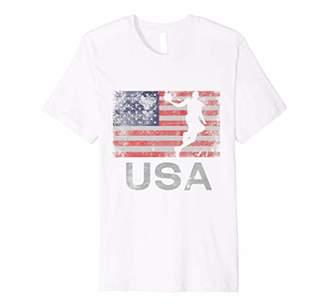 'USA Basketball American Flag' July 4th Freedom Shirt