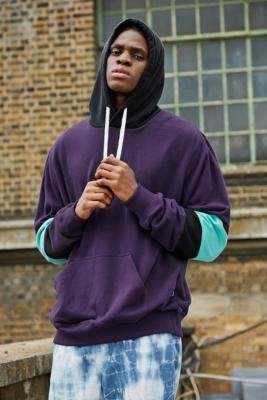 Billabong The Cove Purple Pullover Hoodie - Purple S at Urban Outfitters