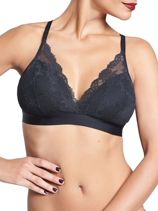 Chantelle Women's Everyday Lace Racerback Wireless Bra Bra