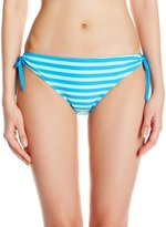 Next Women's Barre To The Beach Tubular Tunnel Side Bikini Bottom with UPF 50