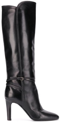 Saint Laurent Jane 90 knee-length boots