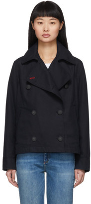 Rag & Bone Navy Ardeana Cropped Jacket