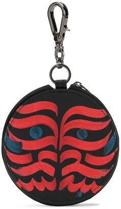 Discord Yohji Yamamoto Tribal-Print Coin Purse