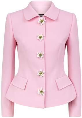 Dolce & Gabbana Lily Buttons Jacket