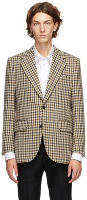 Husbands Multicolor Tweed Straight Blazer