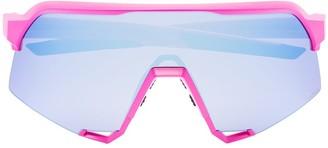 100% Eyewear Interchangeable-Lens Visor Sunglasses