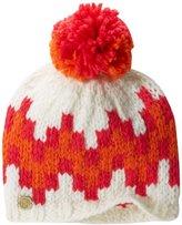 Jonathan Adler Women's Chunky Stepped Chevron Intarsia Beanie Hat