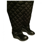 Moncler Leather boots