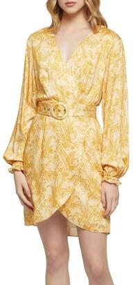 Oxford Trivia Tropical Print Dress Yellow