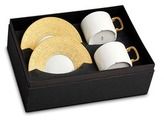 L'OBJET Han teacup and saucer two-piece set