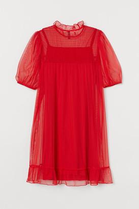 H&M Mesh Dress - Red