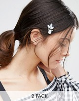 Asos Pack of 2 Embellished Hair Clips