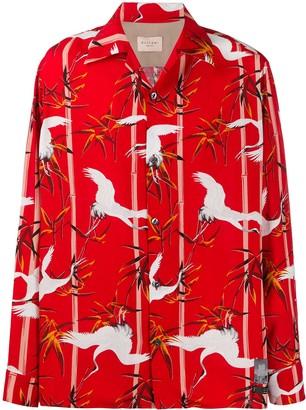Buscemi Bird Print Shirt