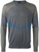 Jil Sander geometric detail jumper - men - Virgin Wool - 48