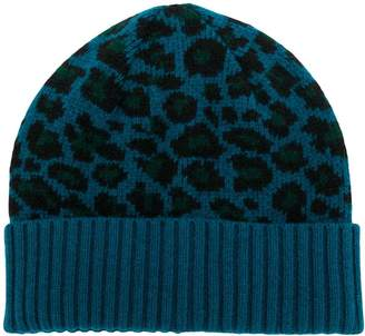 Paul Smith animal print beanie