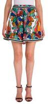 Emilio Pucci Ruffle Hem Shorts