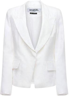 ÀCHEVAL PAMPA Gardel Linen Jacket