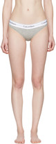 Calvin Klein Underwear Grey Modern Bikini Briefs