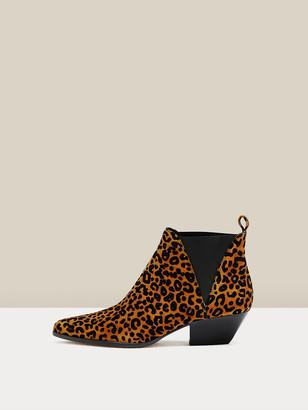 Diane von Furstenberg Nadie Suede Ankle Boots