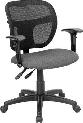 Symple Stuff Colvin Ergonomic Mesh Task Chair Upholstery Color: Gray