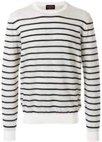 Tod's crew-neck striped jumper