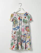 Boden Printed Tea Dress