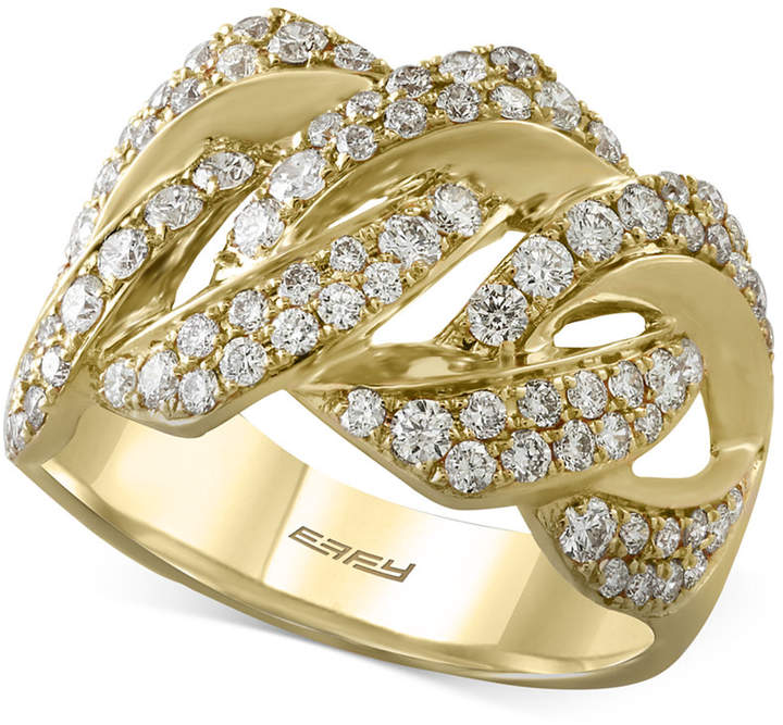 Effy D'Oro by Diamond Ring (1-1/8 ct. t.w.) in 14k Gold