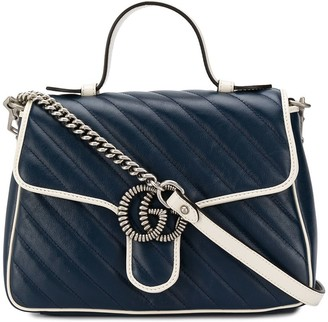 Gucci small GG Marmont top-handle bag