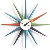 Vitra Large Sunburst Clock - Multicoloured