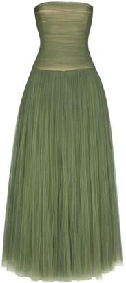 KHAITE Fran tulle gown