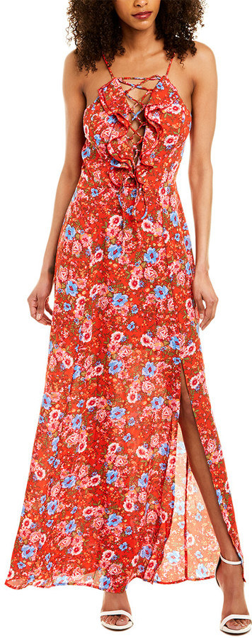 WAYF Rhian Maxi Dress