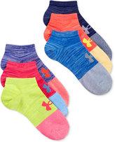 Under Armour Women's Essential Twist No Show Socks 6 Pack