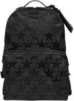 Valentino Camustars Nylon Jacquard Backpack
