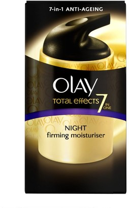 Olay Total Effects 7-In-1 Anti-Ageing Night Firming Moisturiser 50Ml