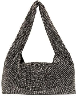 Kara Stud Embellished Shoulder Bag