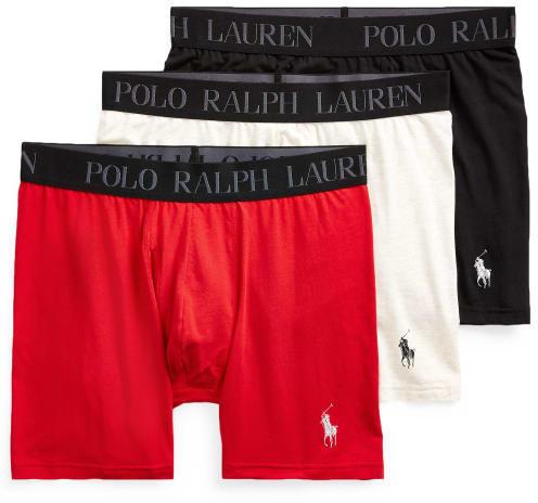 Polo Ralph Lauren 4D-Flex Stretch Cotton Boxer Brief 3-Pack